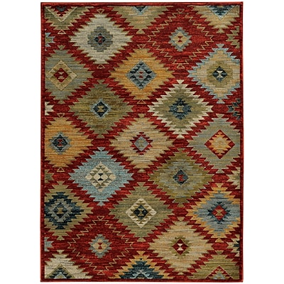 StyleHaven Transitional Southwest Tribal Nylon/Polypropylene 6'7