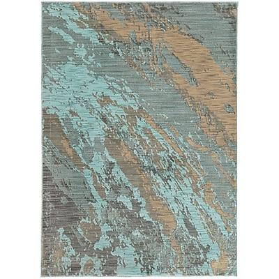StyleHaven Contemporary Marble Nylon/Polypropylene 6'7