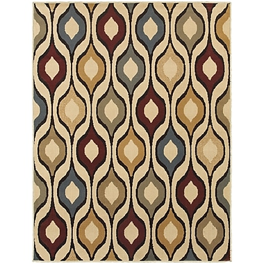 StyleHaven Transitional Odgee Design Polypropylene 5'3