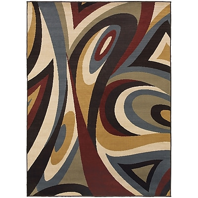 StyleHaven Transitional Swirl Polypropylene 7'10
