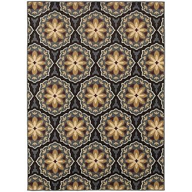 StyleHaven Transitional Floral Panel Polypropylene 7'10
