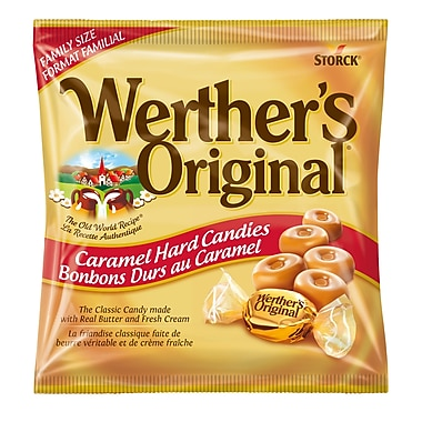 Werther's Original Family Bag, 14 pieces/245g, (329797-70)