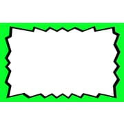 "Blank Show Card, 3.5"" H x 5.5"" H, 100/Pack"