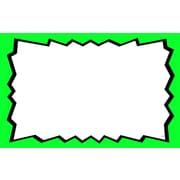 Pancarte vierge, 3,5 x 5,5 po, 100/paquet