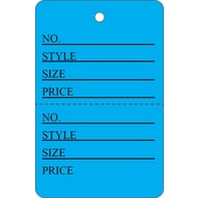 "Garment Tag A, 1 5/8"" x 2.5"", 1000/Pack"