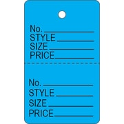 Étiquette en papier pour vêtements C, 1 3/16 x 15 po, 1000/paquet