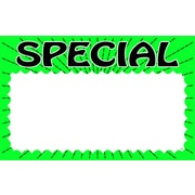 "Special Show Card, 3.5"" H x 5.5"" H, 100/Pack"