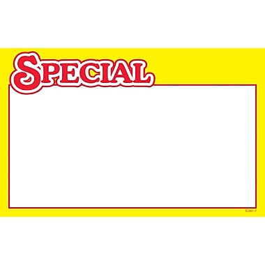 Special Show Card, Yellow Boarder, 5.5