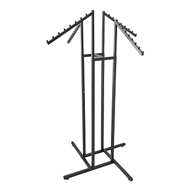 Black Four Way Garment Rack, 1