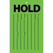 Étiquette «Hold», 3,5 po x 5,5 po, paq./100