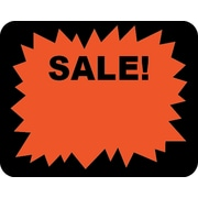 "Sale Sticker, 1 3/6"" x 1.5"", 1000/Roll"