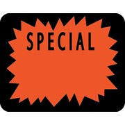 Autocollant «Special», 1 3/6 po x 1 1/2 po, 1000/rouleau