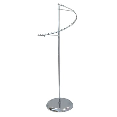 Spiral Garment Rack, Chrome, 18