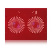 Aluratek Slim USB Laptop Cooling Pad, Red (ACP01FR)