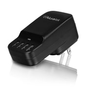 Aluratek 4-Port Rapid USB Wall Charger/Charging Station 2.4A (AUCS04F)