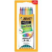 BICMD – Crayons de graphite Extra Fun, HB n° 2, rayures, paq./8