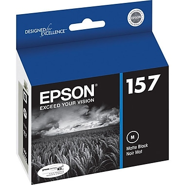 Epson 157 Matte Black Ink Cartridge, (T157820)