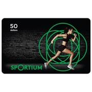 Carte-cadeau Sportium de 50 $