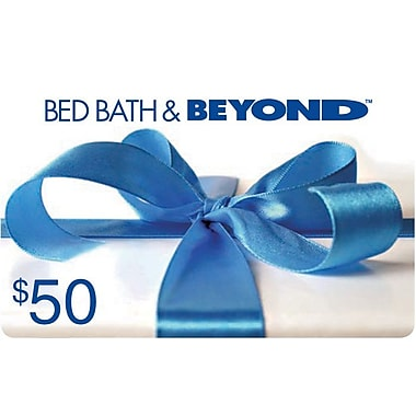 Carte-cadeau Bed Bath & Beyond de 50 $
