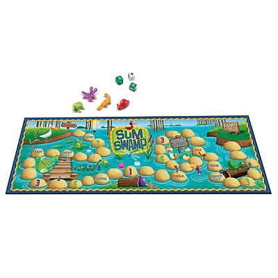 Learning Resources® Sum Swamp™ Addition & Subtraction Game, Grades Prek-12