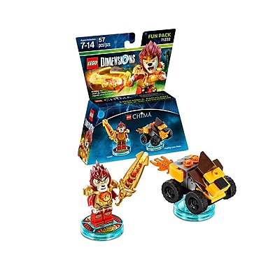 LEGO – Pack Héros Dimensions, Chima, Laval (883929464081)