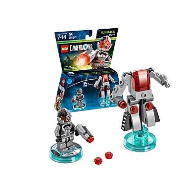 LEGO Dimensions Fun Pack, DC Comics, Cyborg, (883929463909)
