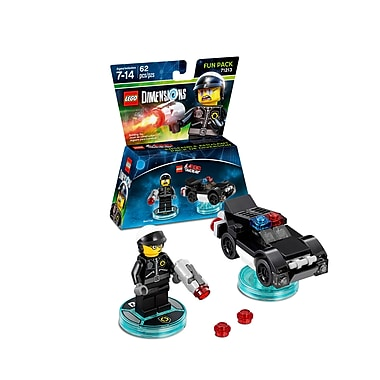 LEGO Dimensions Fun Pack, Lego Movie, Bad Cop, (883929464029)