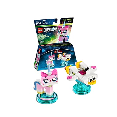 LEGO Dimensions Fun Pack, Lego Movie, Unikitty, (883929464067)