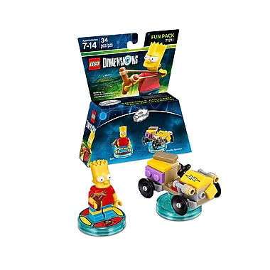 LEGO Dimensions Fun Pack, The Simpsons, Bart, (883929463916)