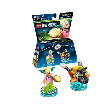 LEGO Dimensions Fun Pack, The Simpsons, Krusty, (883929464050)