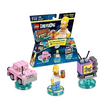 LEGO – Pack Aventures Dimensions, Les Simpson (883929463855)