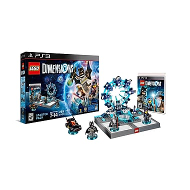 LEGO Dimensions Starter Pack, PS3, (883929450411)