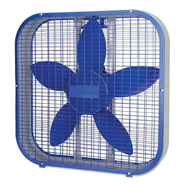 Sunbeam 20-inch Box Fan, Blue, (SBF2012BLU-CN)