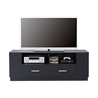 Homestar 2-Drawer TV Stand, Black, (Z1510558)