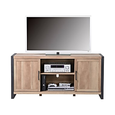 Homestar 2-Door TV Stand with Metal Feet, (Z1510725)