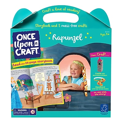 Educational Insights Once Upon a Craft™ Rapunzel, Ages 4-6 (1111)