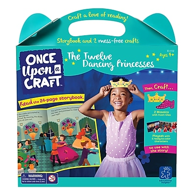 Educational Insights Once Upon a Craft™ The Twelve Dancing Princesses Ages 4-6 (1112)