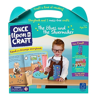 Educational Insights Once Upon a Craft™ The Elves and the Shoemaker, Ages 4-6 (1114)