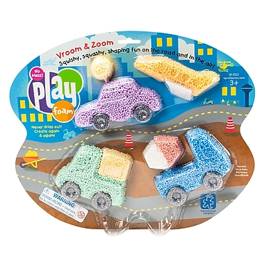 Educational Insights® PlayFoam Vroom & Zoom 8-Pack, Ages 3+