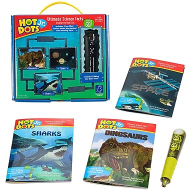 Educational Insights® Hot Dots Jr. Ultimate Science Facts