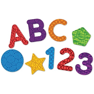 Learning Essentials™ Magnetic Letters, Numbers & Shapes (LER7724)