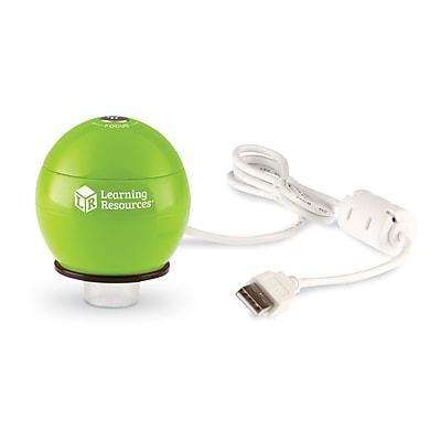 Learning Resources Zoomy™ 2.0 Handheld Digital Microscope, Green (LER4429-G)