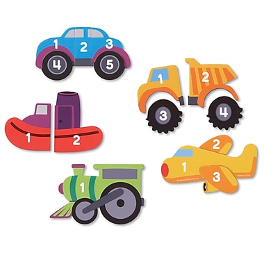 Learning Resources® Learning Essentials Magnetic Counting Vehicle Puzzles (LER7726)