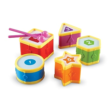 Learning Resources® Learning Essentials Learning Drums (LER7728)