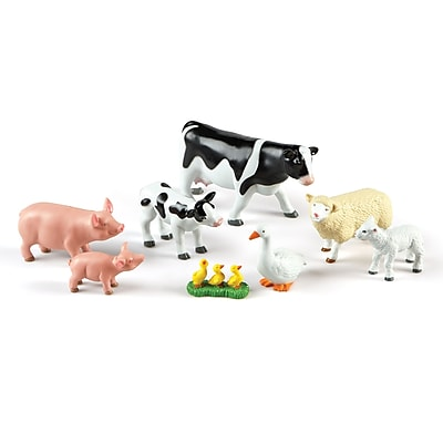 Learning Resources Jumbo Farm Animals: Mommas and Babies (LER0835) 2140363