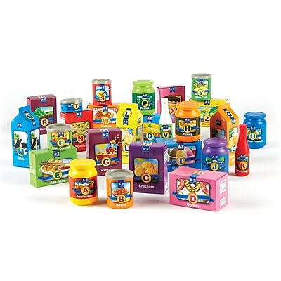 Learning Resources Learning Essentials™ A to Z Alphabet Groceries (LER7729)