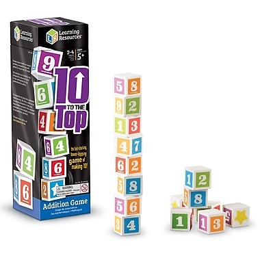 Learning Resources® 10 to the Top Addition Game (LER1767)