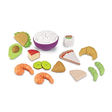 Learning Resources® New Sprouts Multicultural Food Set, 15 piece (LER7712)