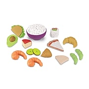 Learning Resources New Sprouts Multicultural Food Set, 15 piece (LER7712)