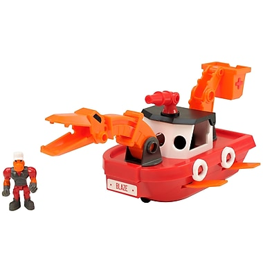 Educational Insights Dino Construction Company™ Rescue Crew Blaze the Plesiosaurus Fireboat (4163)